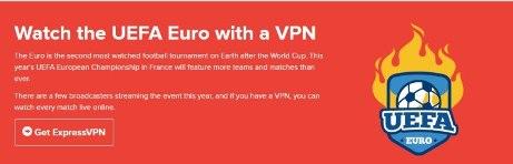 Express VPN for Euro 2016