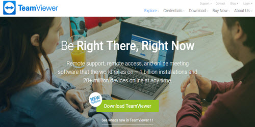 Teamviewer denies any hack of its software and says users were careless