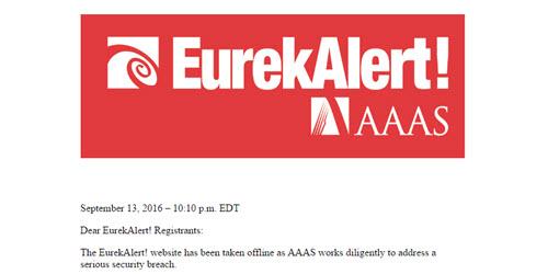 popular-science-journal-website-eurekalert-hacked