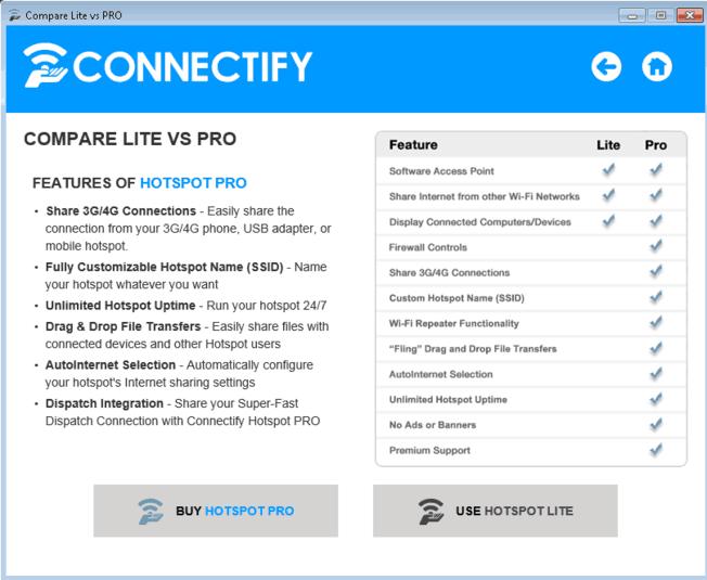 Similar like connectify