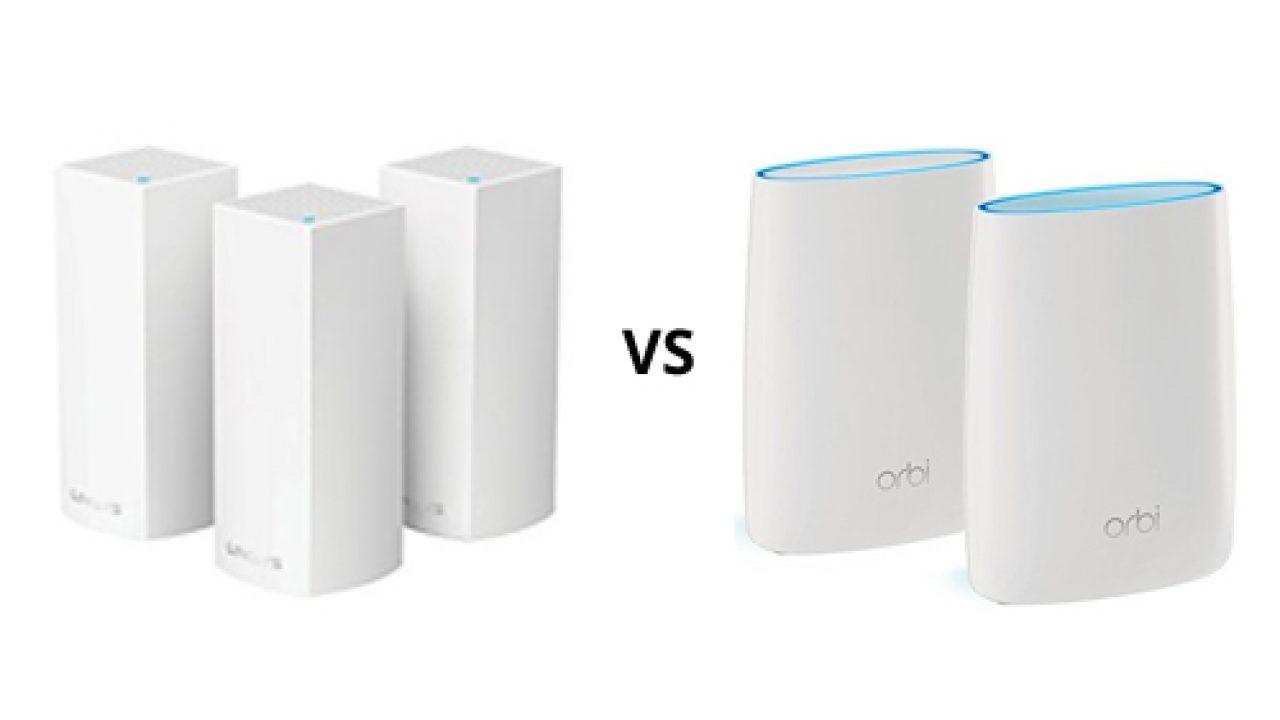 Velop vs Orbi: WiFi System Comparison