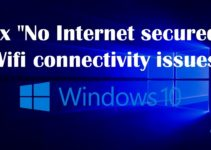No internet secured WiFi