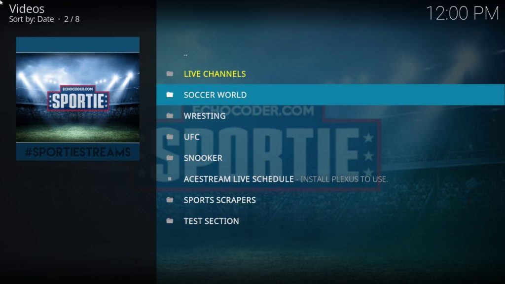 Best Sports Add-ons for Kodi